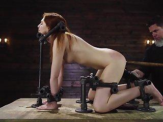 Anal maledom for the female attendant Maya Kendrick