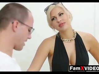 Steamy mommy pummels son-in-law and trains daughter-in-law - Authoritative Free Mother Hump Movies at FamXvideos.com