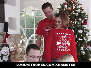 FamilyStrokes - Fucking My Sis During Feast-day Christmas Pics