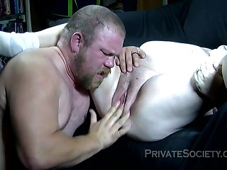Ugly Supersized Obese Beautiful Generalized Inexpert Porn Couple In A Bj And M - giving head