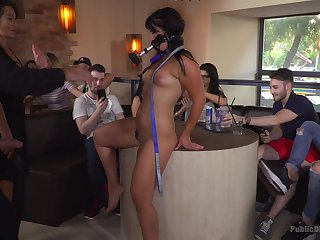Sandra Romain and her friends adore the humiliation and succeed fetishes