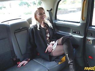 Elizabeth Romanova adores seem like fuck more taxi driver in the car