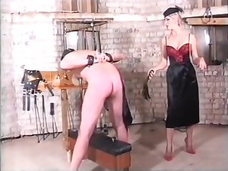 Legmistress British Femdom BDSM Flannel added to Ball Torture