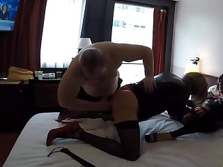 Intimate training for a slut