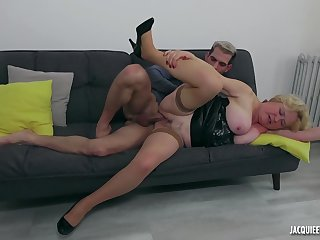 61 yo french granny hardcore porn video
