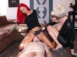 German Domina Let Slave Swept off one's feet Fuzz ball poppet Teen Pussy To Org