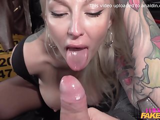 Kayla Unfledged And Someone's skin Budapest Man 2 - Female Fake Taxi-cub